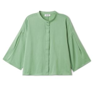 Weekday Mick Blouse in Green